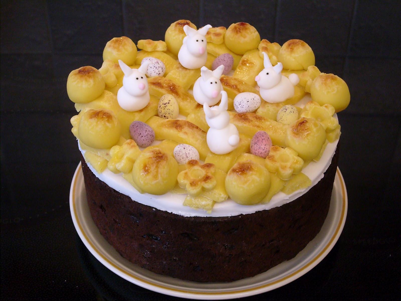 Simnel Cake Recipe Dishmaps